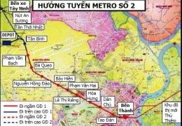 TP HCM khởi công xây tuyến tàu điện ngầm số 2